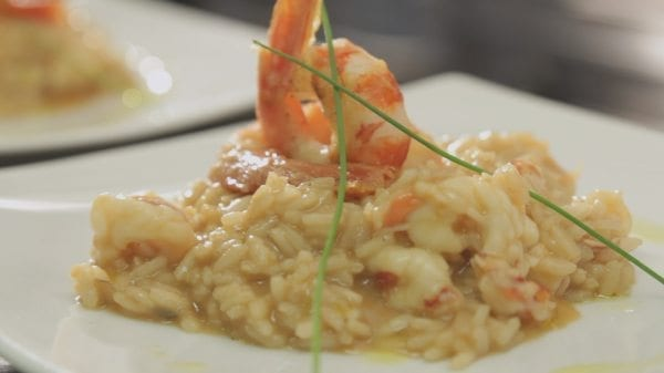Shrimp Prosecco Risotto Recipe