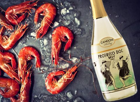 Shrimp & Prosecco Wine Pairing