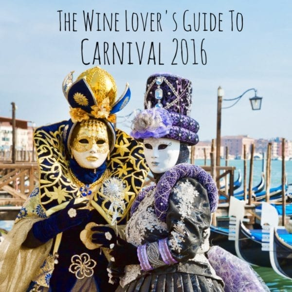Traditional Food and Wine During Italian Carnival