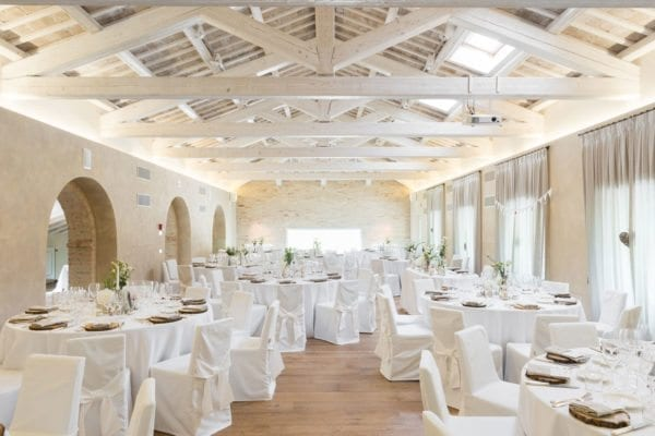 wedding reception in italy