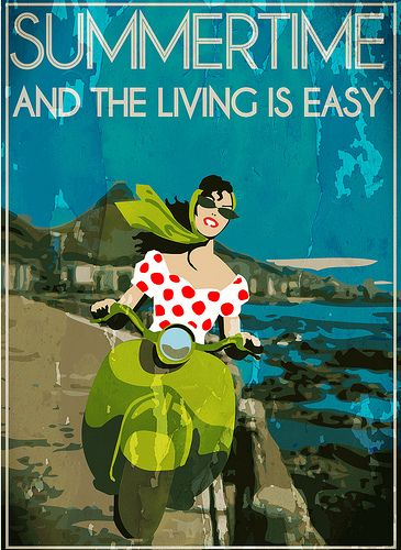 sumertime italian seaside and wine