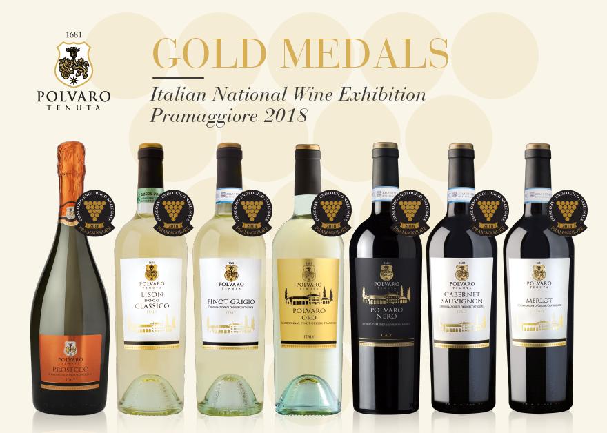 tenuta polvaro gold medals 2018