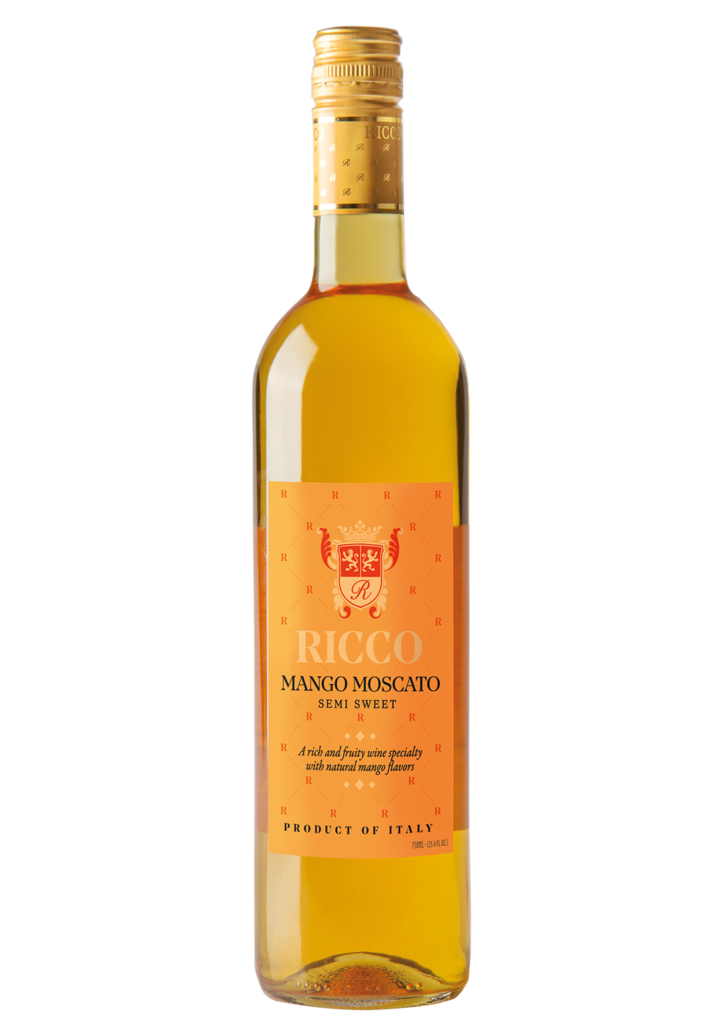 Ricco wines mango moscato