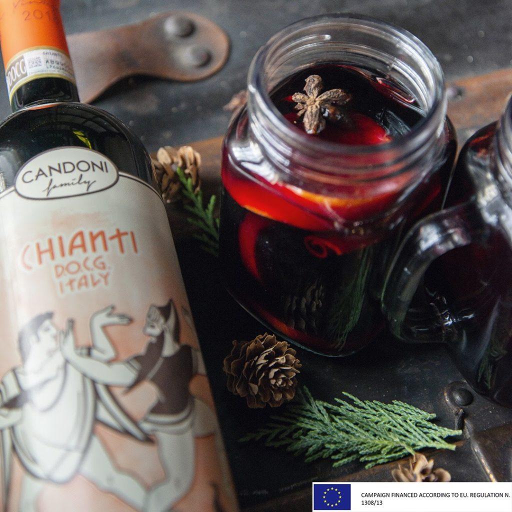 750ml Bottle of Candoni Chianti D.O.C.G.