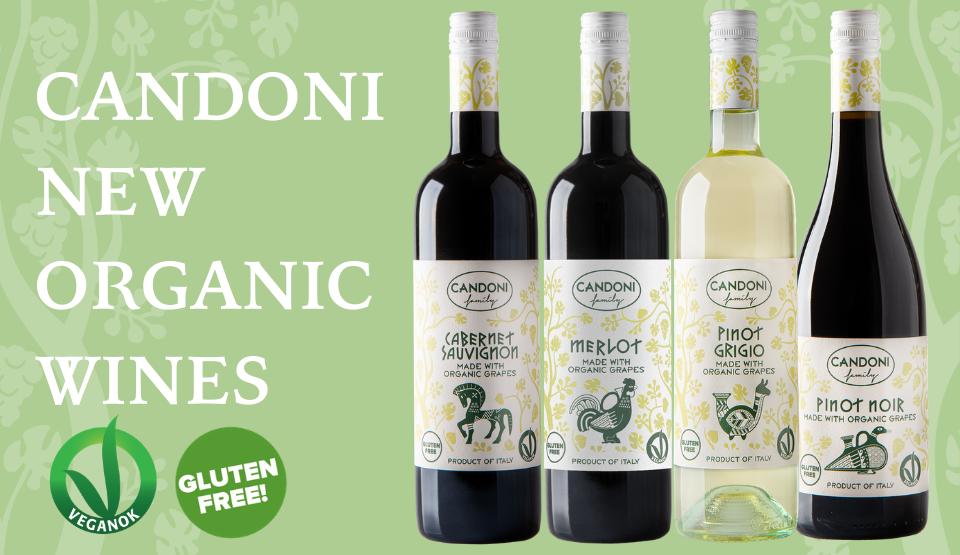 Organic Candoni wines