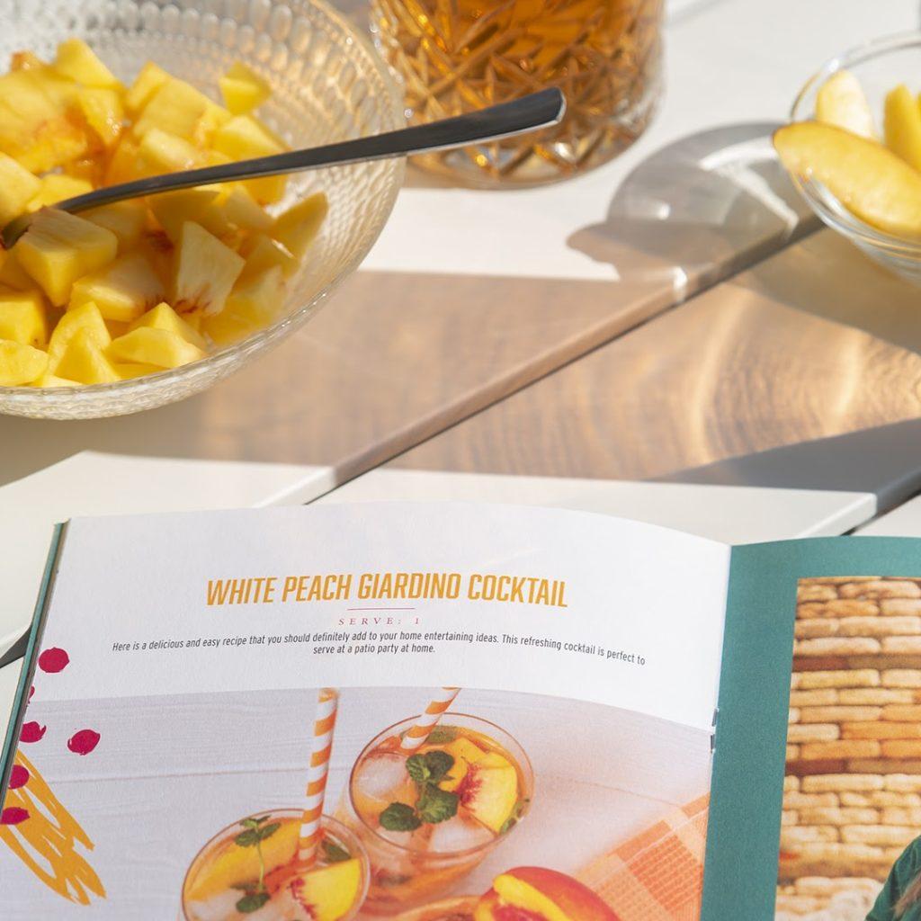 White Peach Cocktails